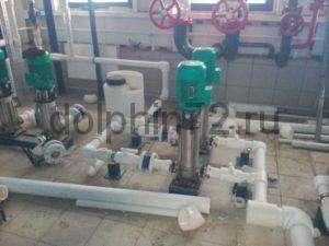 Монтаж промышленной системы водоочистки