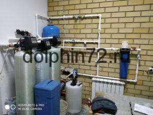 Система водоочистки для коттеджа с автоматической станций дозации хлора
