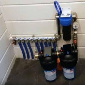 фильтр для очистки воды в Тюмени многоступенчатый