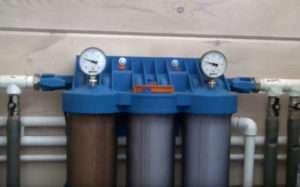 фильтр для очистки воды в коттедже