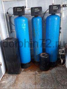 Система подготовки питьевой воды в цехе по копчению мяса