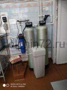 Система доочистки городской воды до питьевых норм СанПиН в столовой