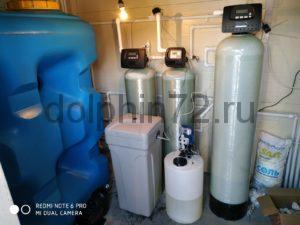 Монтаж хим. реагентной системы водоочистки с накопительной ёмкостью 2м3 для нужд автомойки, СТО по обслуживанию грузового автотранспорта