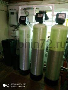 Установлена нами химреагентная система водоочистки в д. Куртан, Курганской области. В исходной воде железо и мутность превышает норму в 30 раз, жесткость комфортный показатель превышает в 4 раза.