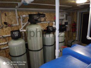 Монтаж двух мобильных систем очистки воды в Тюмени для Севера