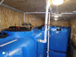 Монтаж двух мобильных систем очистки воды в Тюмени
