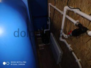 Монтаж двух мобильных систем очистки воды