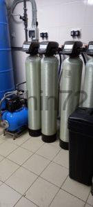 Монтаж системы водоочистки в больнице «Нефтяник»