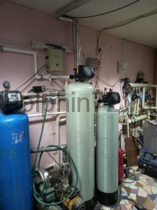 Монтаж системы очистки воды в гостиничном комплексе г. Тарко-Сале ХМАО