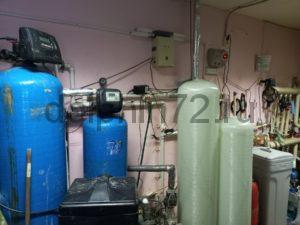 Монтаж системы очистки воды в гостиничном комплексе г. Тарко-Сале