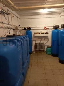 Монтаж системы водоочистки в гостинице г. Тарко-Сале ХМАО Тюменской области