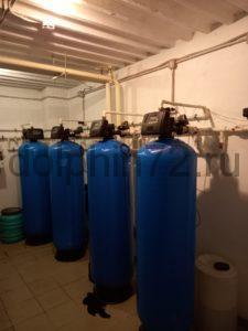 Монтаж системы водоочистки в гостиничном комплексе г. Тарко-Сале