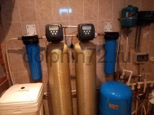 Сервис системы водоочистки в коттедже Тюмени