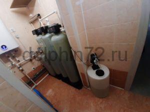 Модификация системы очистки воды в коттедже Тюмени