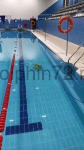 Чистка и обслуживание общественного бассейна в Тюмени
