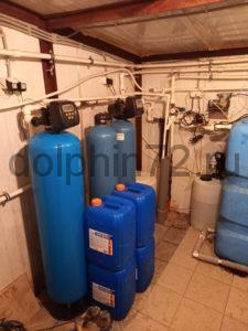Сервис системы водоочистки, рассчитанной на 4 коттеджа, а так же одного бассейна под Тюменью