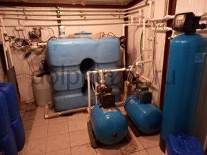 Сервис системы водоочистки, рассчитанной на 4 коттеджа, а так же одного бассейна
