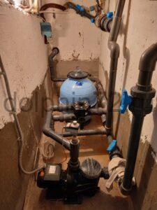 Сервисное обслуживание бассейна и системы водоочистки в коттедже г. Тюмени