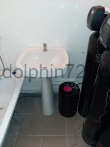 Монтаж системы водоочистки в квартире в ванной