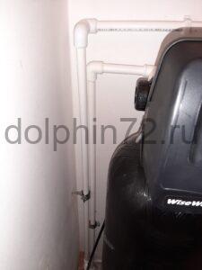 Монтаж системы водоочистки в квартире в ванной комнате