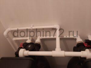 Монтаж системы очистки воды в квартире пос. Салым
