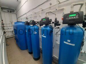Монтаж системы очистки воды, гостиница пос. Салым ХМАО