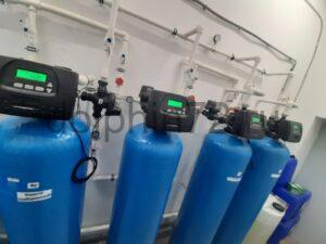 Монтаж системы очистки воды, гостиница поселок Салым ХМАО