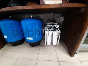 Монтаж системы водоочистки, гостиница поселка Салым
