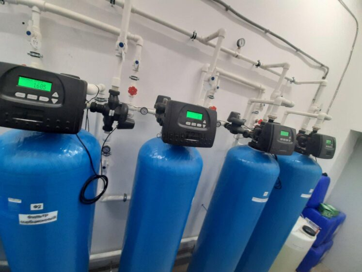Монтаж системы очистки воды, гостиница поселка Салым