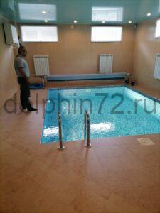 Плановый сервис бассейна в частном доме