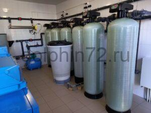 Сервисное обслуживание системы водоочистки на одном из предприятий г. Тюмени