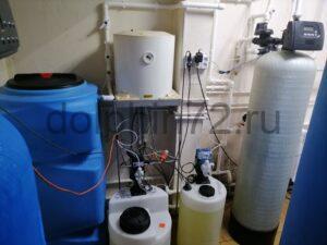 Очистка воды в гостинице «777» п. Салым, ХМАО