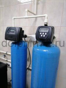 Замена загрузки на водоочистке, установленной 8 лет назад в котедже в Московском дворике, Тюмень
