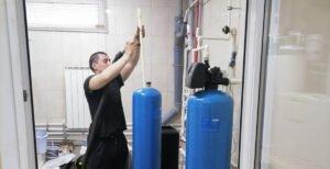 Замена загрузки на водоочистке, установленной 8 лет назад