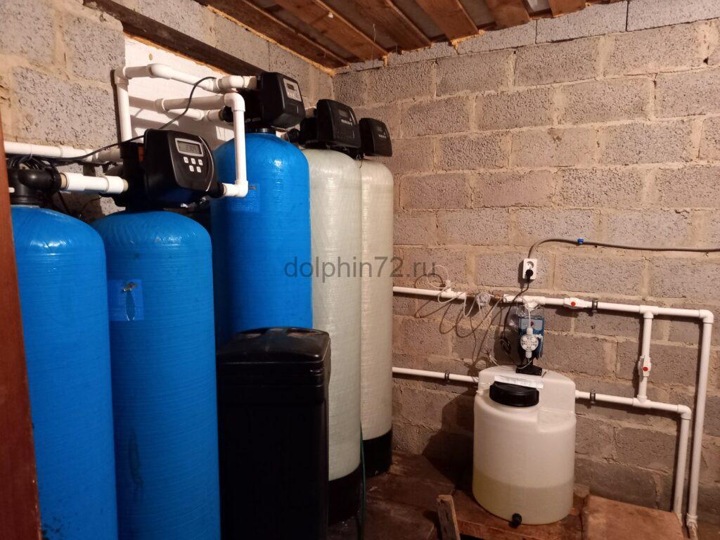 Реконструкция системы водоочистки на базе отдыха - Ярковский район Тюменская область