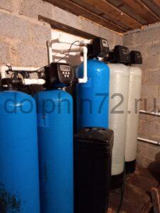 Новая система очистки воды на базе отдыха