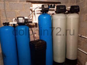 Новая система водоочистки, установленная на базе отдыха